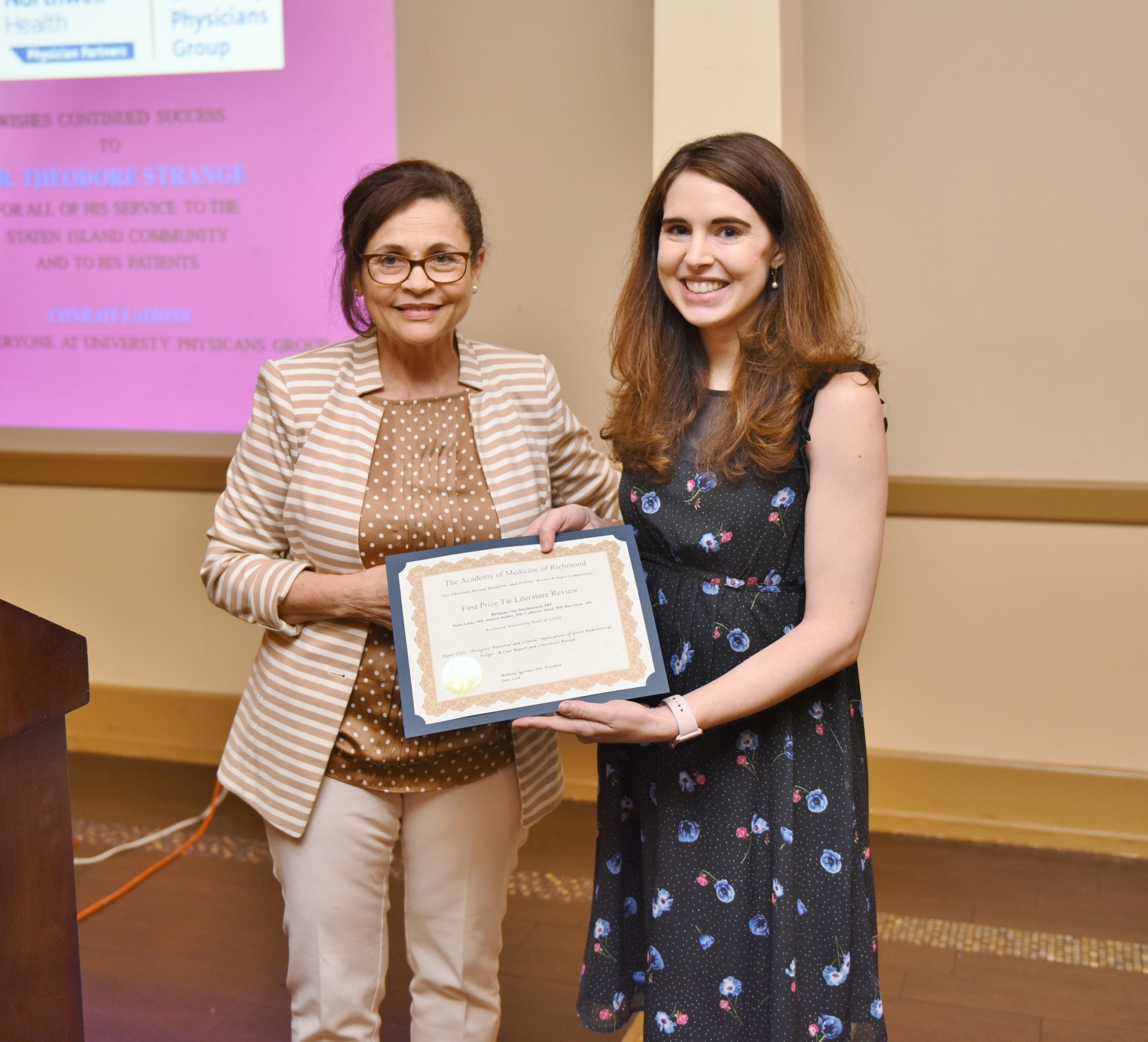 Residents Research Competition and Awards Dinner
